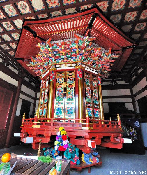 Wheel repository, Narita-san Shinshō-ji Temple, Narita