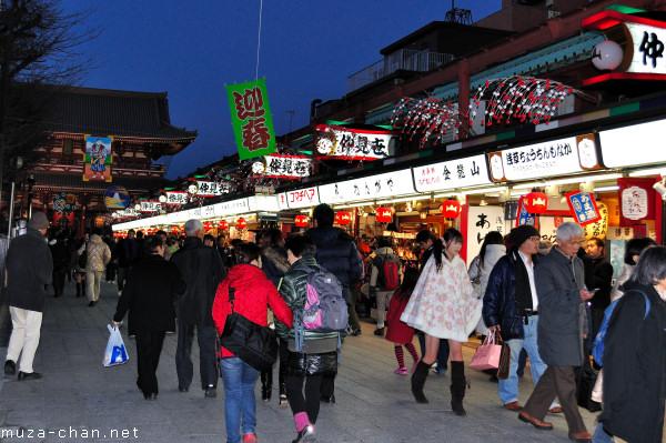 Nakamise-dori, Senso-ji Temple, Asakusa, Tokyo