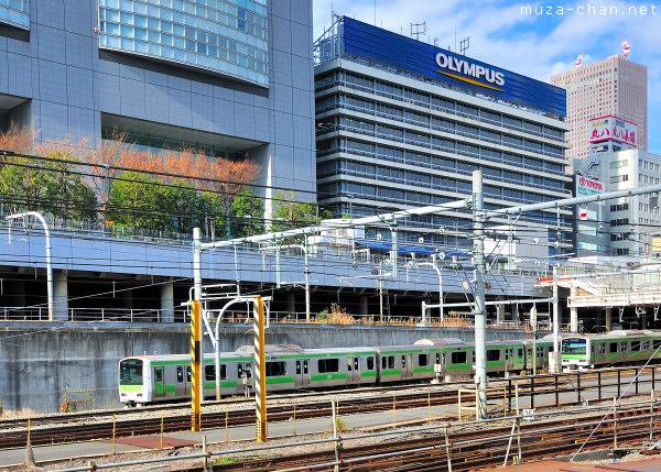 Yamanote train, Shinjuku Station, Tokyo