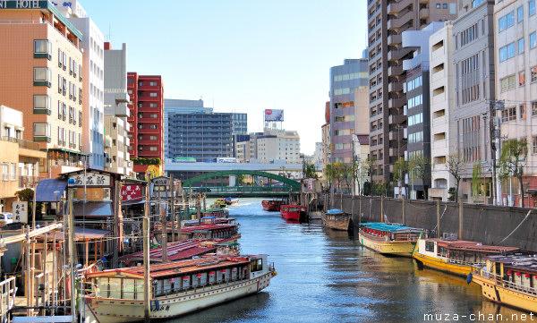 Yanagibashi Bridge, Asakusa, Tokyo