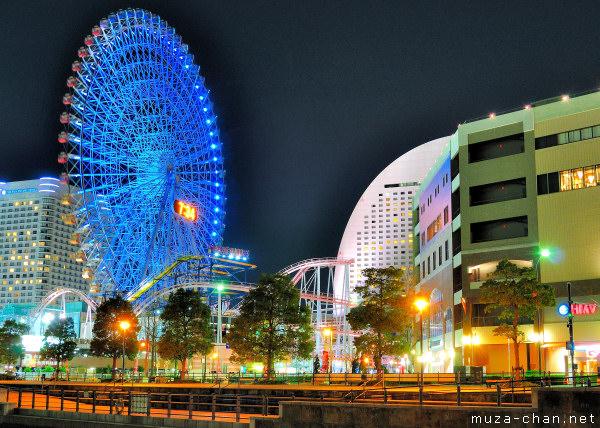 Ferris wheel Cosmo Clock 21, Minato Mirai 21, Yokohama