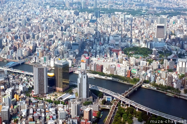 View from Tokyo Sky Tree, Sumida