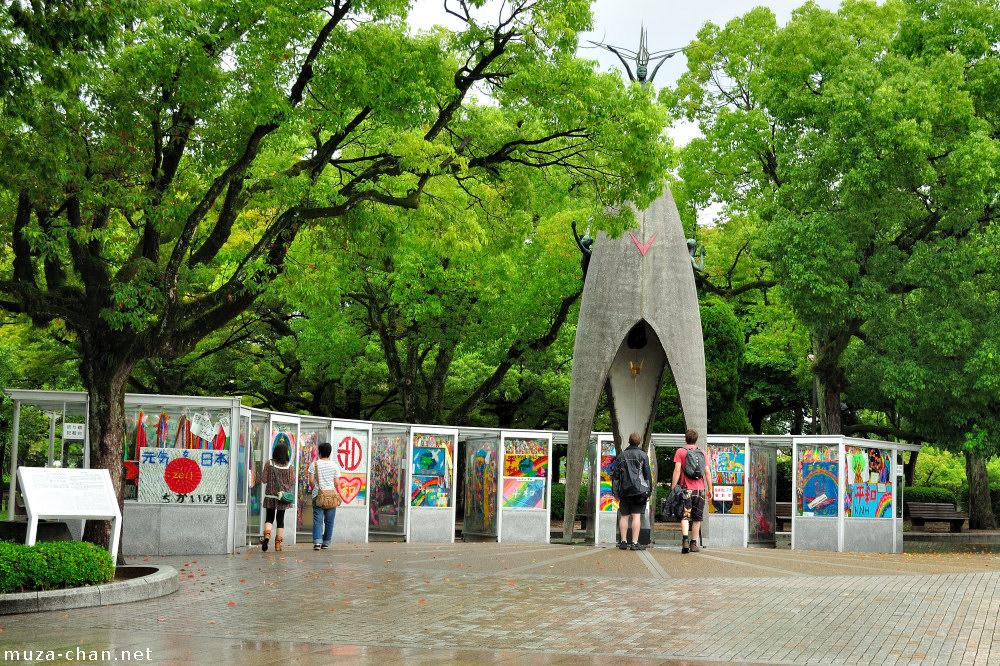 Hiroshima Childrens Peace Monument, Sadako Sasakis story