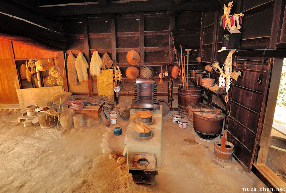 Inside the traditional Japanese house Doma