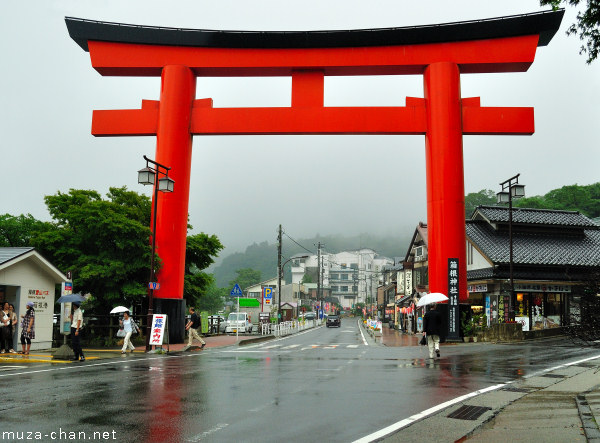 Torii, Hakone Shrine, Hakone