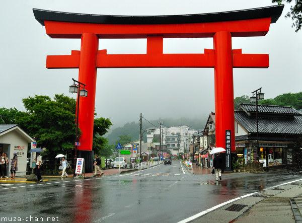 Torii, Hakone Shrine, Hakone