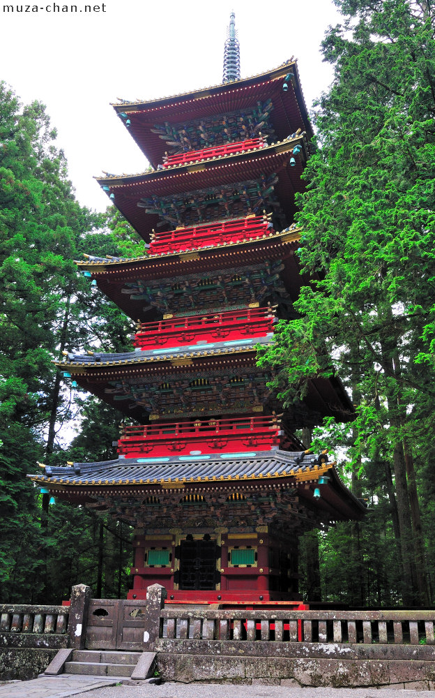 Five Storied Pagoda From Toshogu Shrine