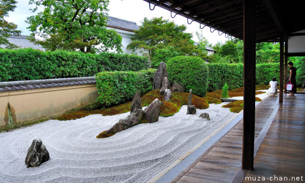 Japanese zen garden the garden of solitary meditation for Japanese meditation garden design