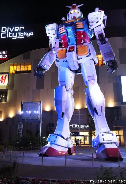 RX-78-2 Gundam, Diver City, Odaiba, Tokyo