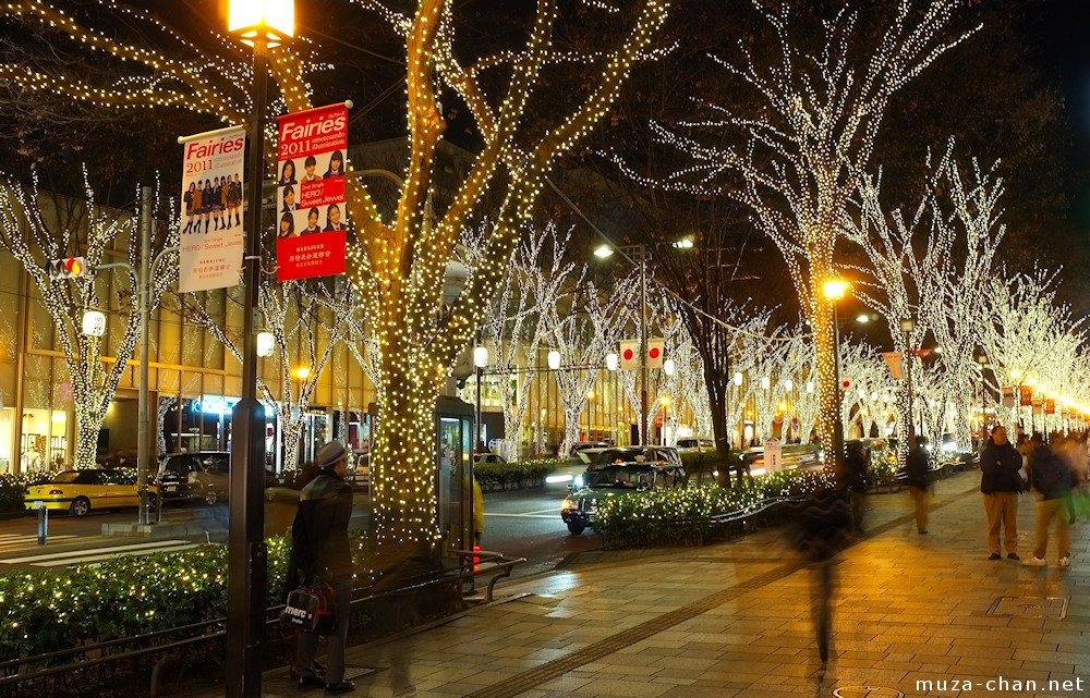 Omotesando Winter Illumination