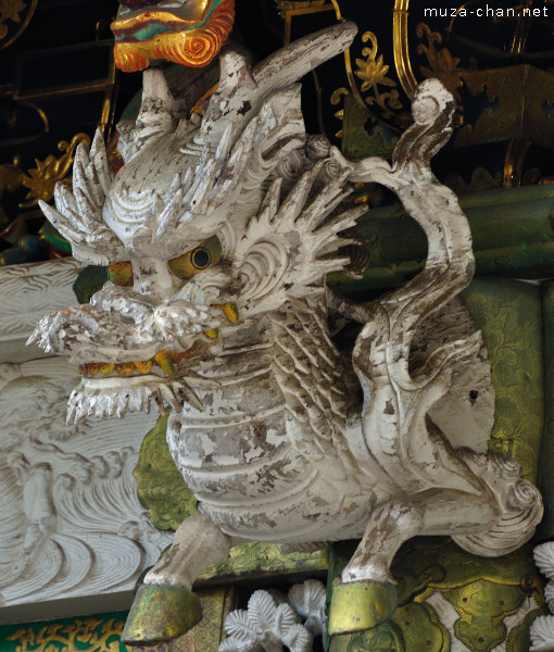 Horse dragon, Yomeimon Gate, Toshogu Shrine, Nikko