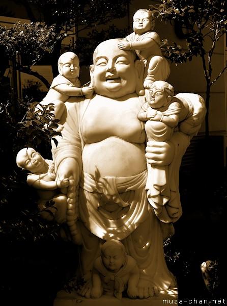 Hotei statue, Sendai