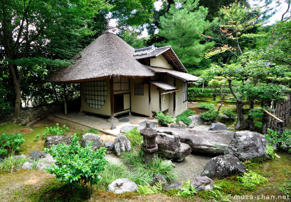 Iho-an (Cottage of Lingering Fragrance), Kodai-ji Temple, Kyoto