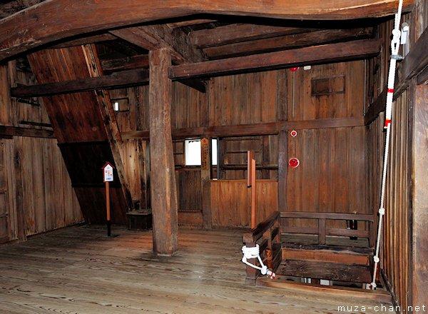 Japanese Castle Interior Maruoka