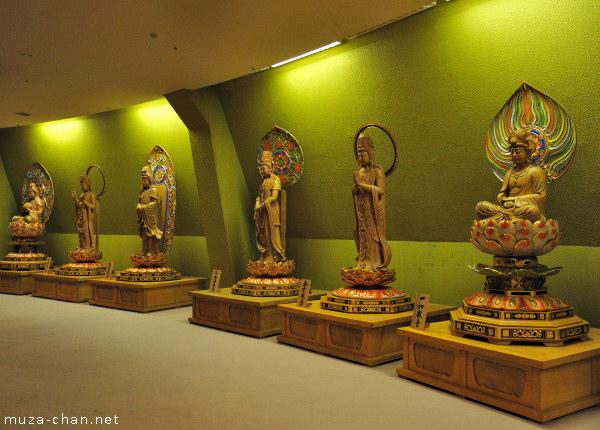 Interior Sendai Daikannon Statue, Sendai