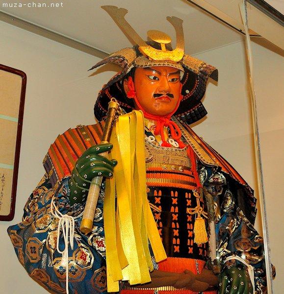 Japanese armour, Kawagoe Festival Museum, Kawagoe, Saitama