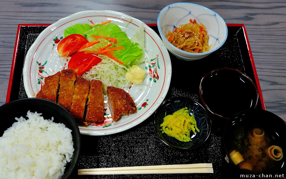 Japanese traditional food teishoku for Ancient japanese cuisine