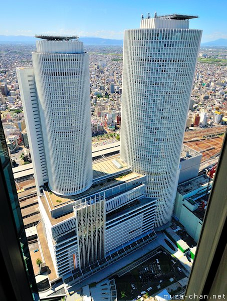 View from Midland Square, JR Central Towers, Nagoya
