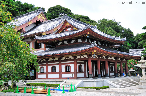Hasedera Temple, Kannon-do Hall, Kamakura