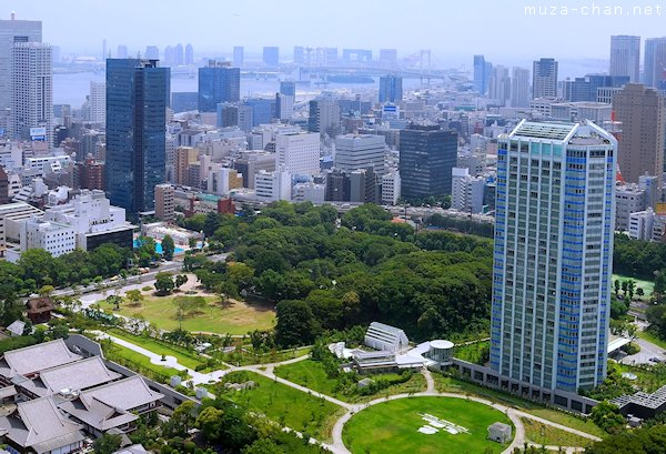Maruyama Kofun, View from Tokyo Tower