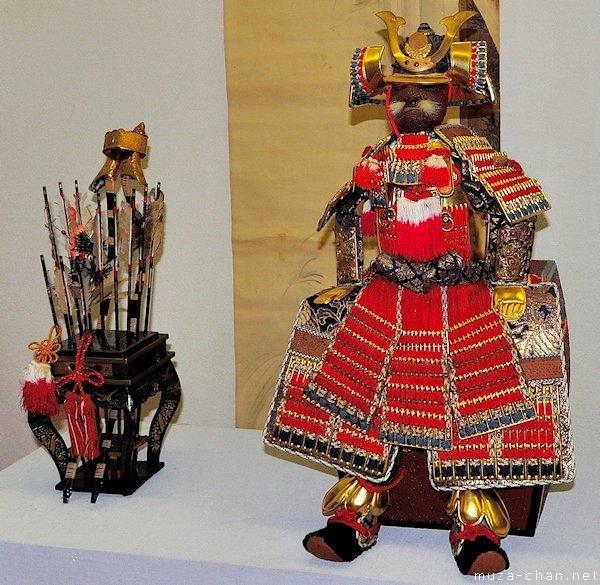 Miniature armor, Tango no sekku, Ohashi House, Kurashiki