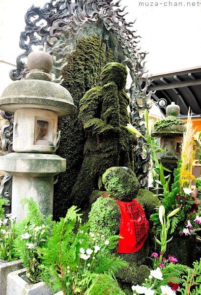 Mizukake Fudo Statue, Hozen-ji Temple, Namba, Osaka