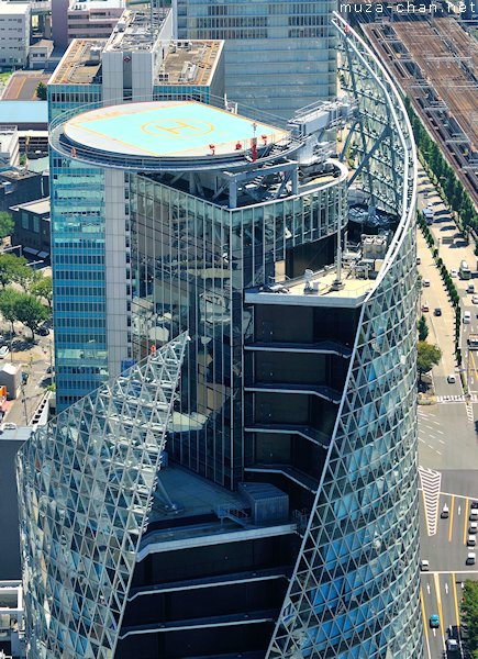 Mode Gakuen Spiral Towers, View from Midland Square Observatory (Toyota-Mainichi Building), Nagoya