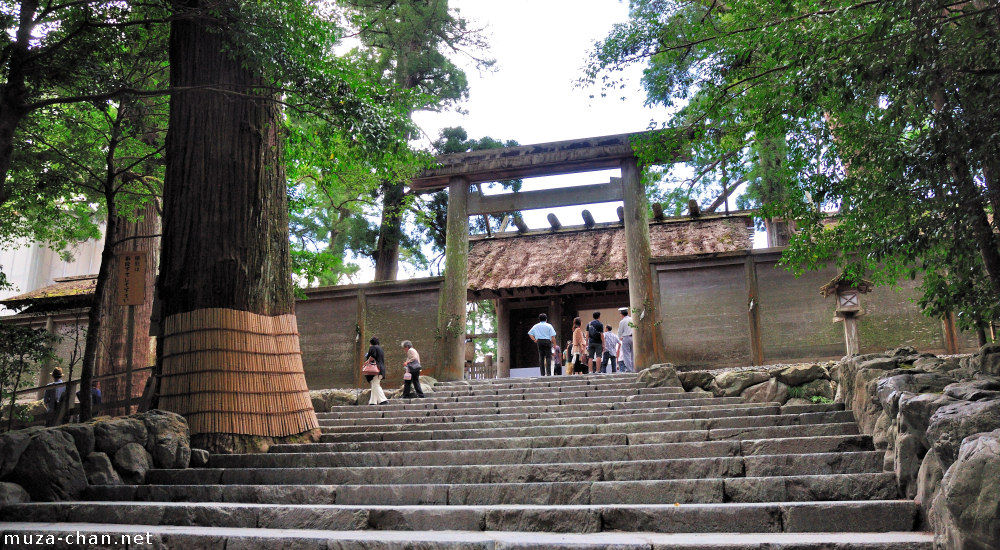 The 62nd rebuilding of the most venerable shrine, Ise Jingu