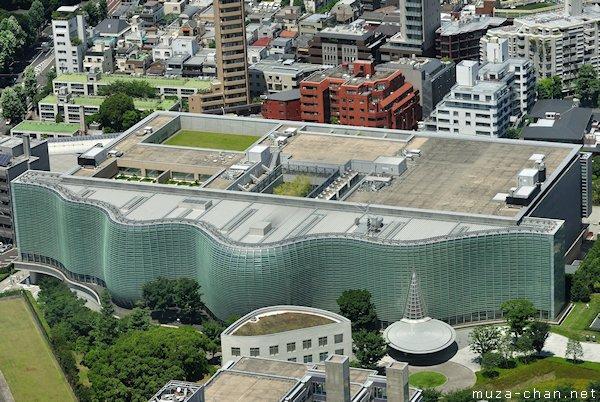 National Art Center, View from Roppongi Hills Mori Tower, Tokyo
