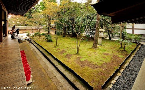 Moss Garden, Ryoan-ji Temple, Kyoto