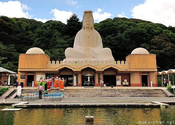 Ryozen Kannon Statue, Higashiyama, Kyoto