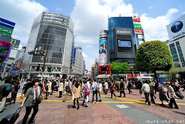 Shibuya 109 Mens, Tokyo