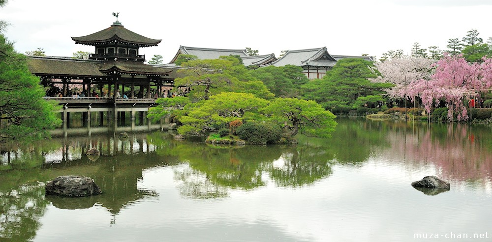 Japanese traditional architecture hashirou for Traditional japanese garden