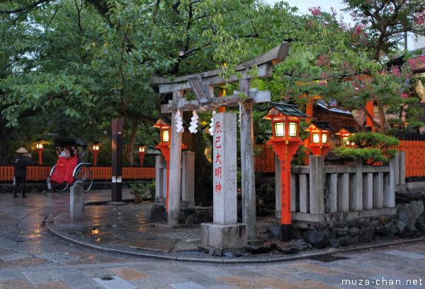 Tatsumi Shrine, Gion, Kyoto