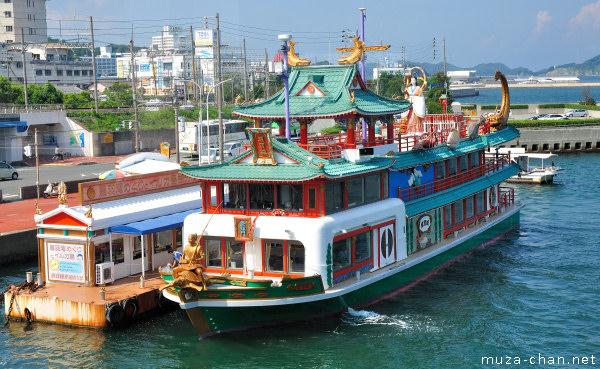 Toba Bay Cruise ship, Toba, Mie Prefecture