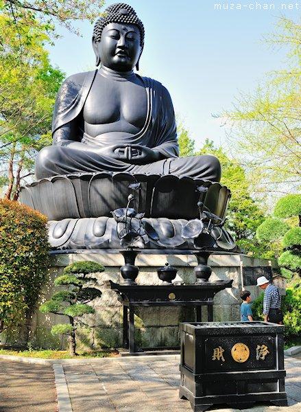 Tokyo Daibutsu, Jourenji Temple, Itabashi, Tokyo