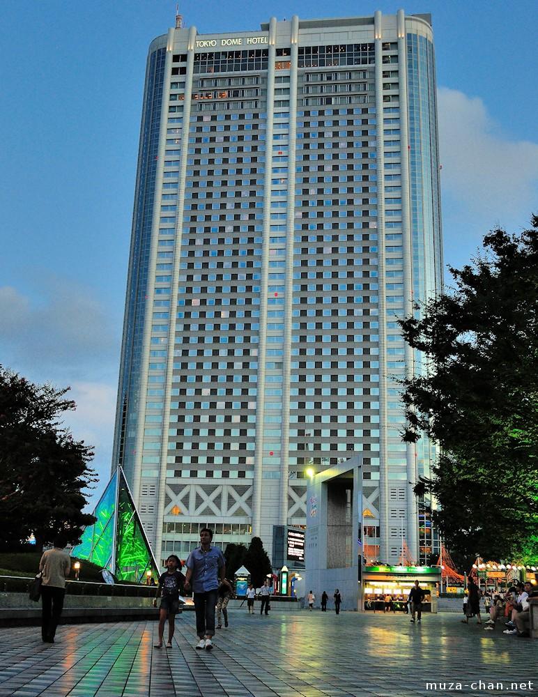 Tokyo architecture tokyo dome hotel for Architecture tokyo