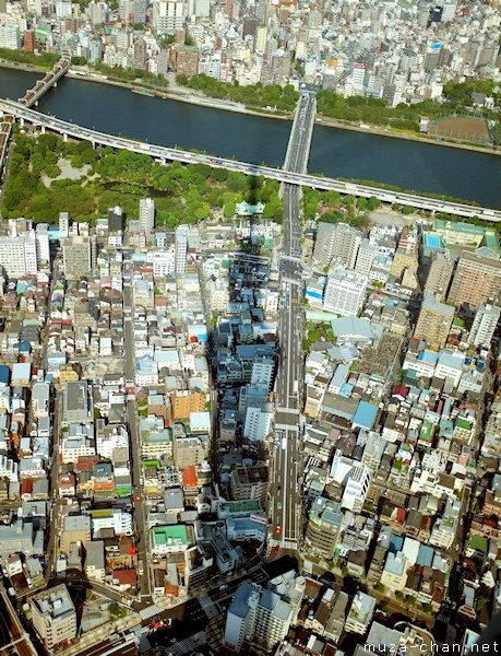 View from Tokyo Sky Tree, Sumida