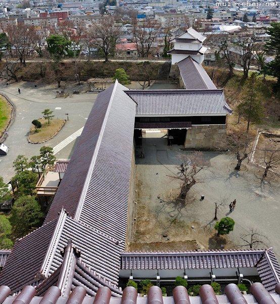 Tsuruga-jo walls, Aizu-Wakamatsu