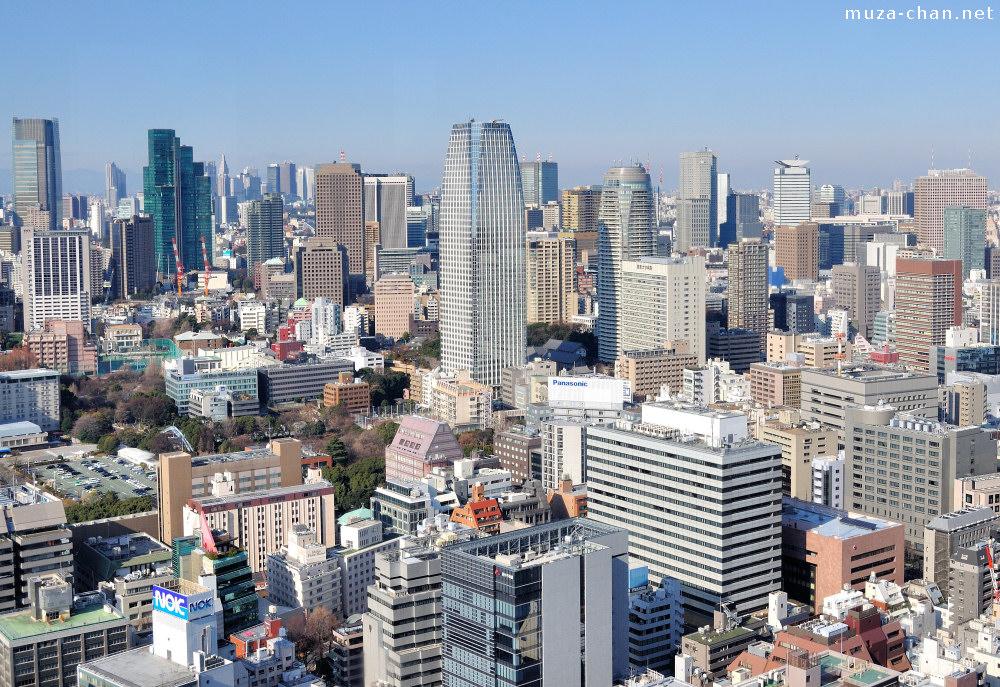 Tokyo Ultra Short Skyscraper History