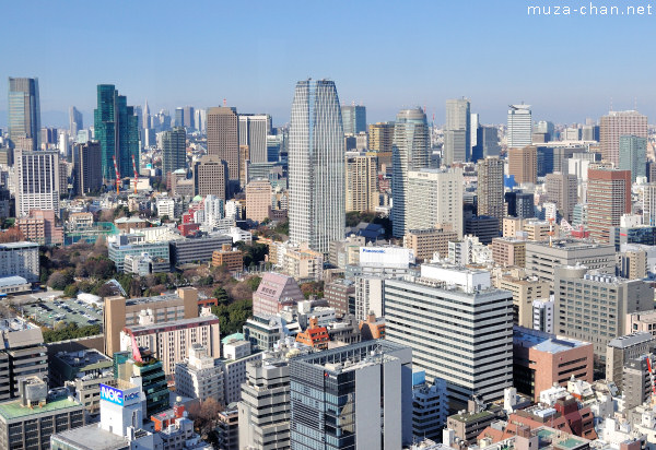 View from World Trade Center Building, Minato, Tokyo