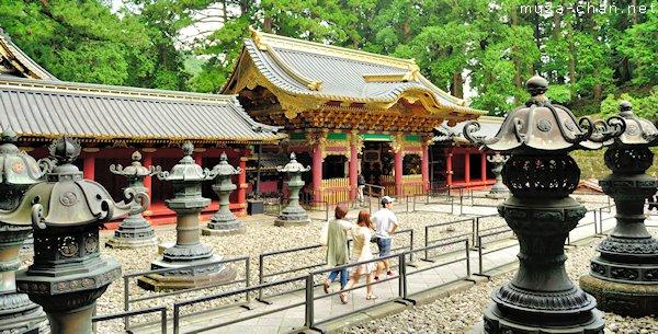 Yashamon Gate, Taiyuin Mausoleum, Nikko