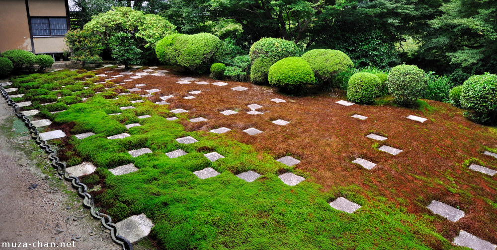 A modern zen garden in kyoto for Zen garden designs plan