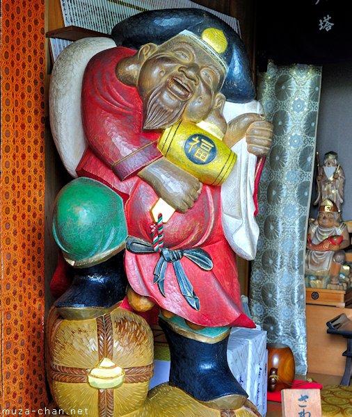 Daikokuten statue, Hasedera Temple, Kamakura