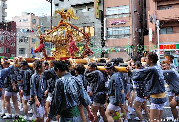 Fukagawa Hachiman Water-throwing festival, Fukagawa, Tokyo