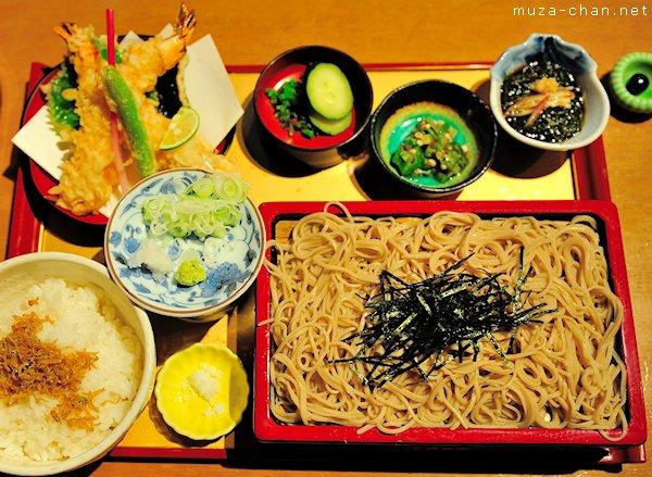 Japanese food, Zaru soba