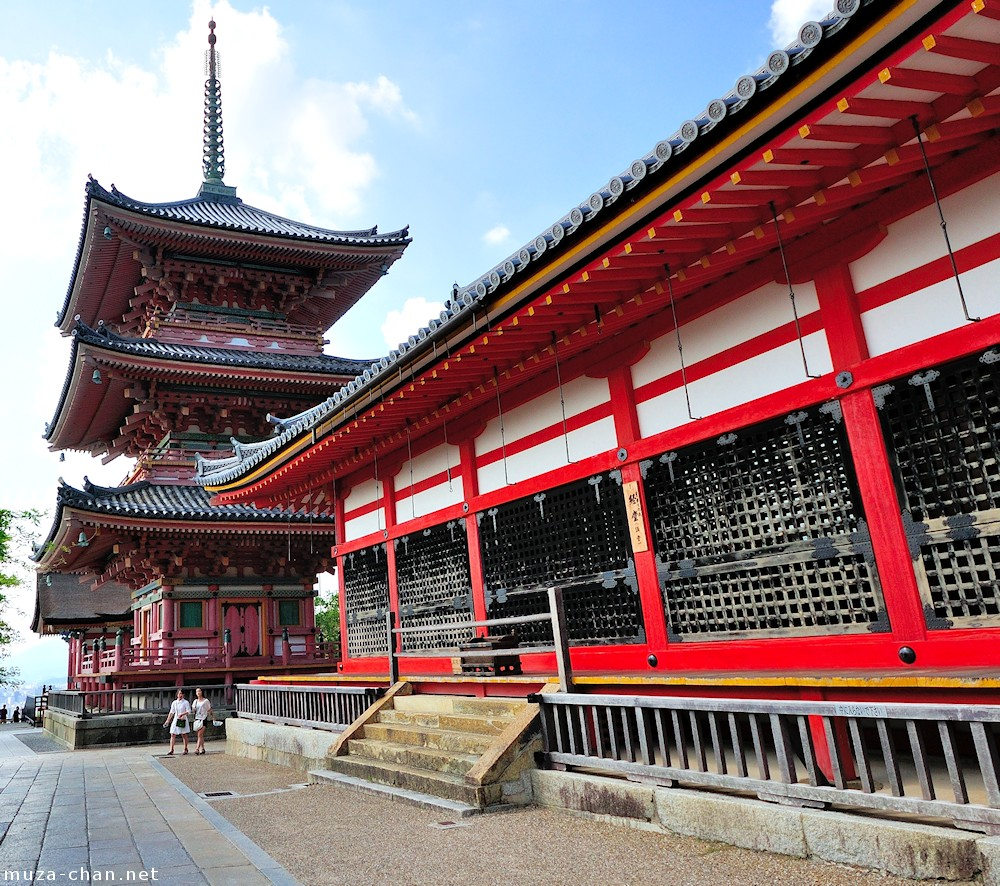Japanese Traditional Architecture Sanju No To Pagoda In Kyoto
