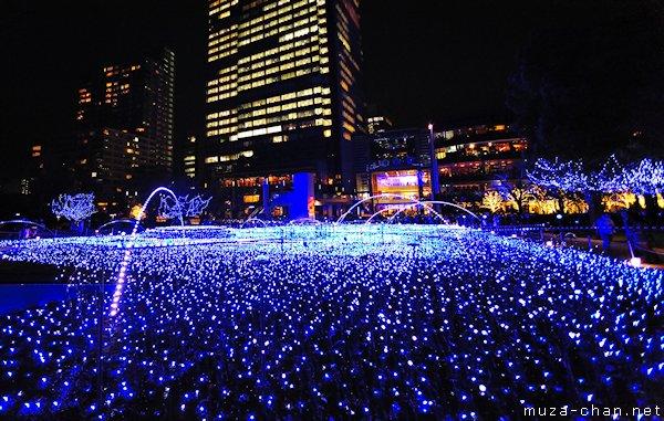 Midtown Christmas Starlight Garden, Akasaka, Tokyo