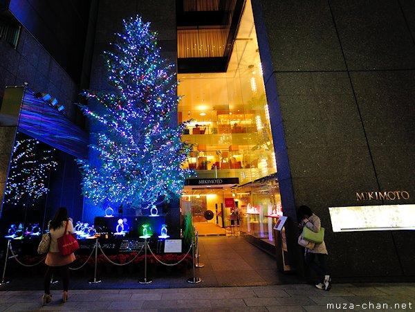 Tokyo Christmas Illuminations, Mikimoto Jumbo Christmas Tree