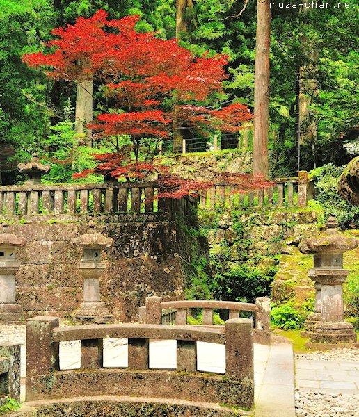 Stone Lanterns, Rinno-ji Taiyuin, Nikko